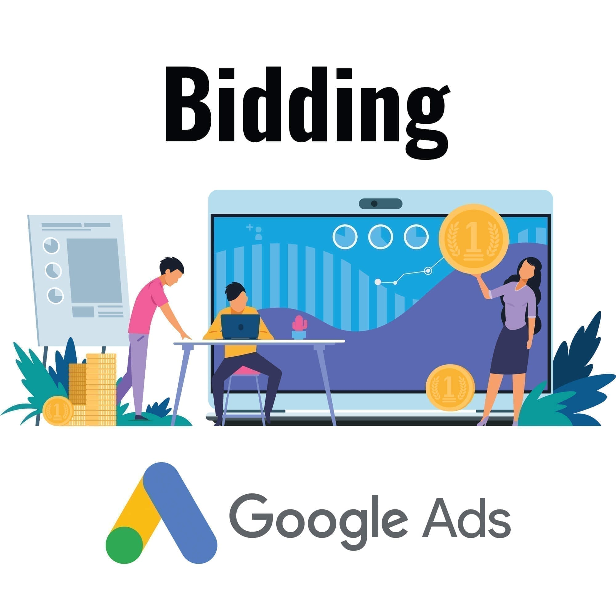 Bieden in Google Ads