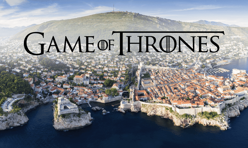 Game of Thrones Dubrovnik Kroatie