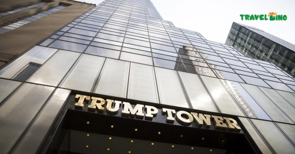 Donald Trump president gratis Trump Tower New York bezoeken